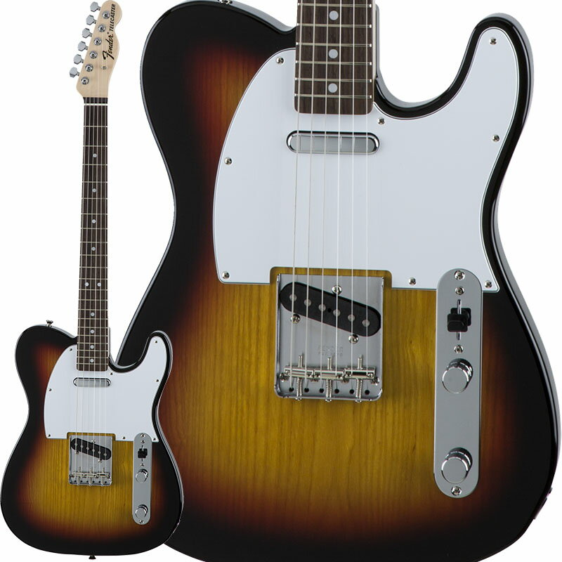 Fender Traditional 70s Telecaster Ash (3-Color Sunburst/Rosewood) [Made in Japan] 【数量限定!ギターアンプ VOX Pathfinder10プレゼント!!】 【ポイント5倍】