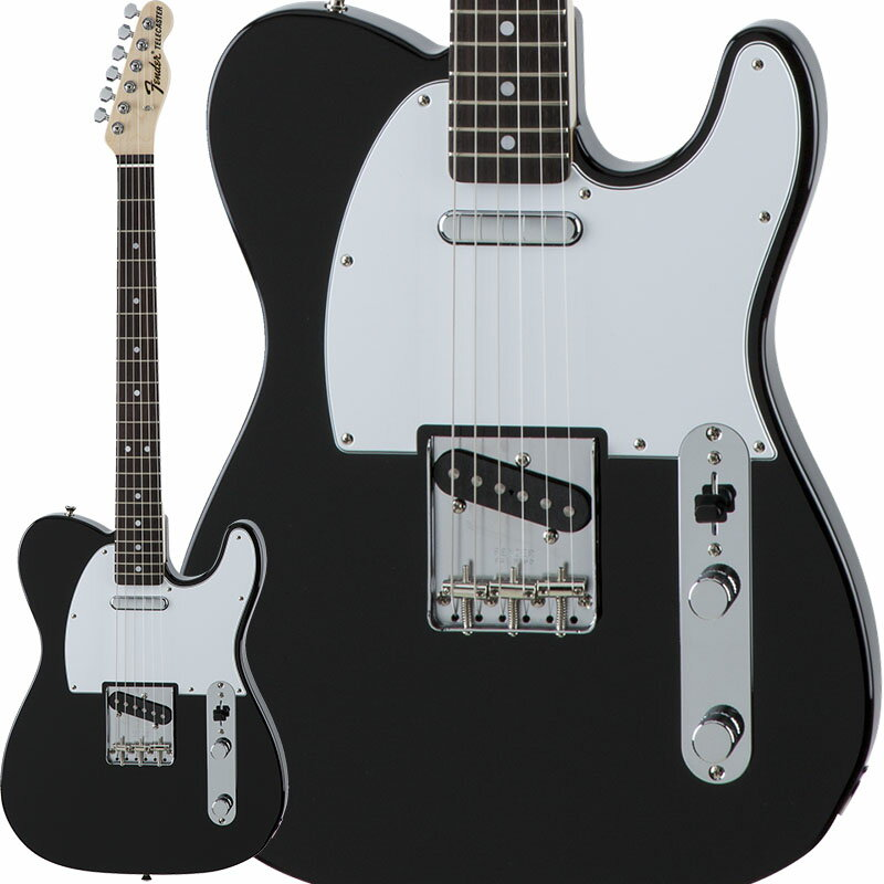 Fender Traditional 70s Telecaster Ash (Black/Rosewood) [Made in Japan] 【数量限定!ギターアンプ VOX Pathfinder10プレゼント!!】 【ポイント5倍】