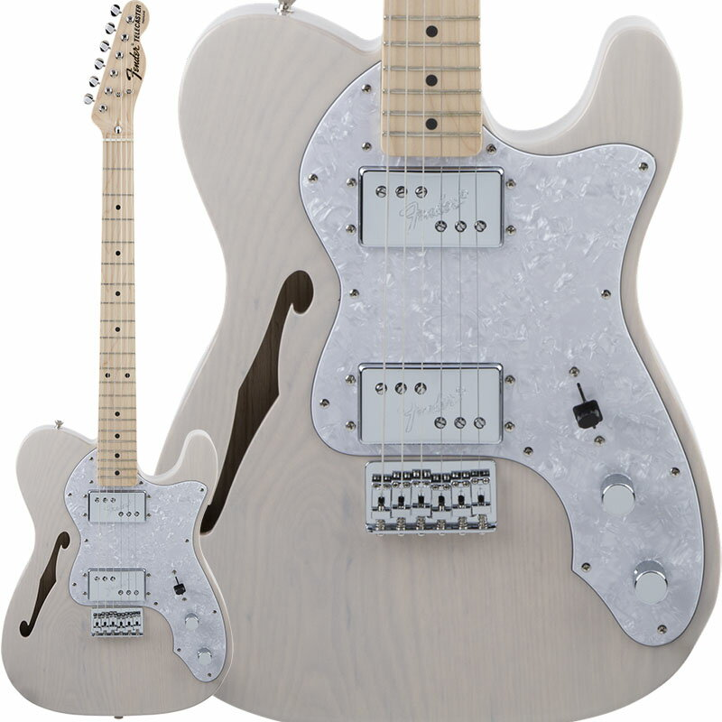 Fender Traditional 70s Telecaster Thinline (US Blonde/Maple) [Made in Japan] 【数量限定!ギターアンプ VOX Pathfinder10プレゼント!!】 【ポイント5倍】