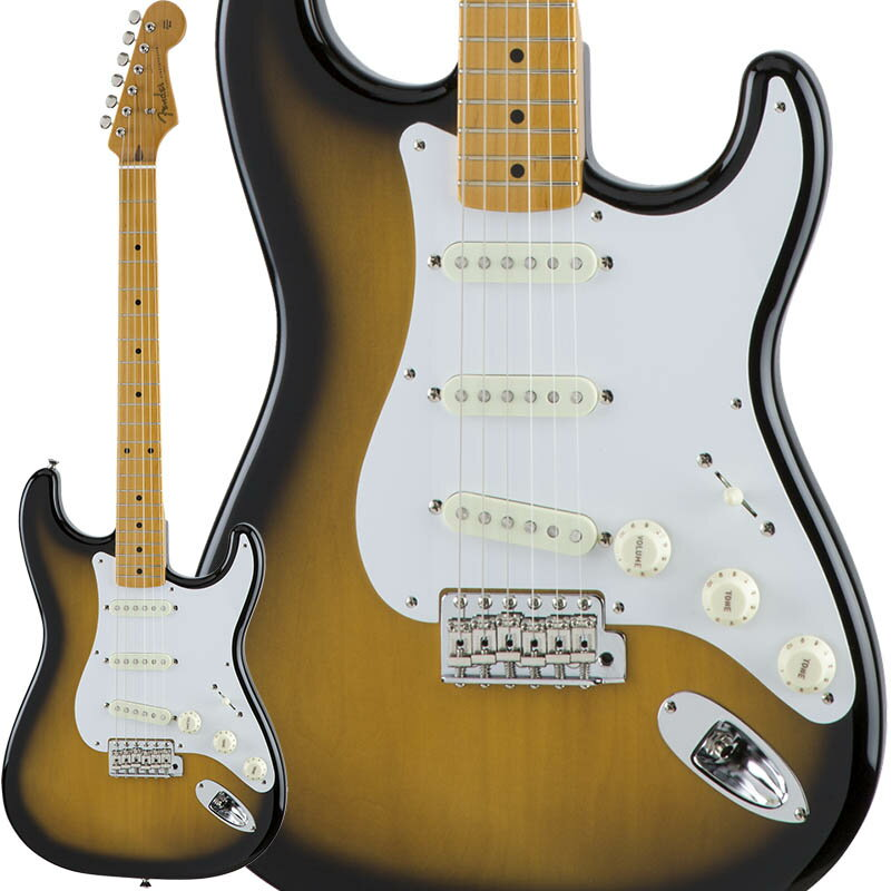 Fender Traditional 50s Stratocaster (2-Color Sunburst) [Made in Japan] 【数量限定!ギターアンプ VOX Pathfinder10プレゼント!!】 【ポイント5倍】