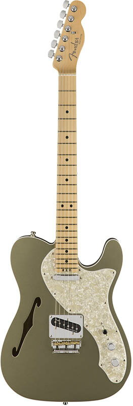 "Fender American Elite Telecaster Thinline (Champagne/Maple) [Made In USA] 【大幅プライスダウン!】 【フェンダー""Fシリーズ""ギグバッグプレゼント!】 【ポイント5倍】"