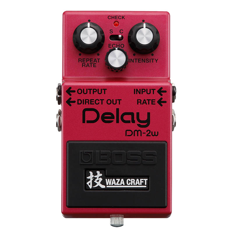 BOSS DM-2W(J) [MADE IN JAPAN] [Delay 技 Waza Craft Series Special Edition] 【期間限定★送料無料】 【IKEBE×BOSSオリジナルデザインピックケースプレゼント】