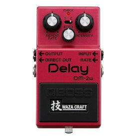 BOSS DM-2W(J) [MADE IN JAPAN] [Delay 技 Waza Craft Series Special Edition] 【ikbp5】 【期間限定★送料無料】 【IKEBE×BOSSオリジナルデザイン缶クージープレゼント】