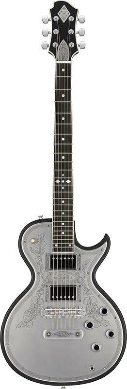 ZEMAITIS Custom Shop Metal Front Series CS24MF CUSTOM (Black) 【数量限定!ゼマイティス×イケベ特製インテリアクロック・プレゼント!】