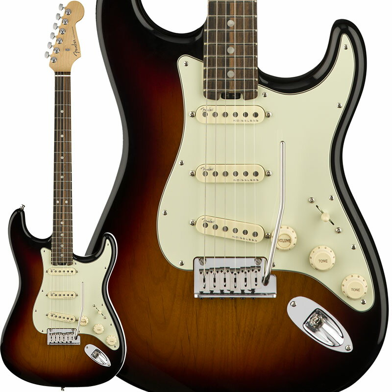 "Fender American Elite Stratocaster (3-Color Sunburst/Ebony) [Made In USA] 【大幅プライスダウン!】 【フェンダー""Fシリーズ""ギグバッグプレゼント!】 【ポイント5倍】"
