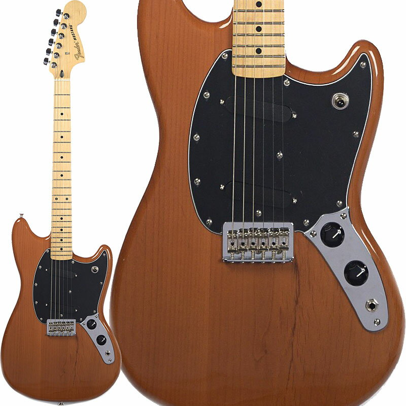 Fender Mustang (Faded Mocha/Maple) [Made In Mexico] 【ポイント5倍】