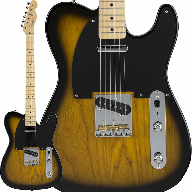 Fender Made in Japan Hybrid 50s Telecaster (2-Color Sunburst) [Made in Japan] 【数量限定!ギターアンプ VOX Pathfinder10プレゼント!!】 【ポイント5倍】 【お取り寄せ品】