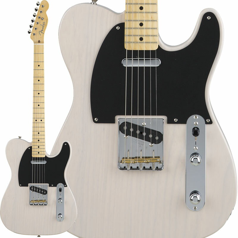 Fender Made in Japan Hybrid 50s Telecaster (US Blonde) [Made in Japan] 【数量限定!ギターアンプ VOX Pathfinder10プレゼント!!】 【ポイント5倍】 【お取り寄せ品】