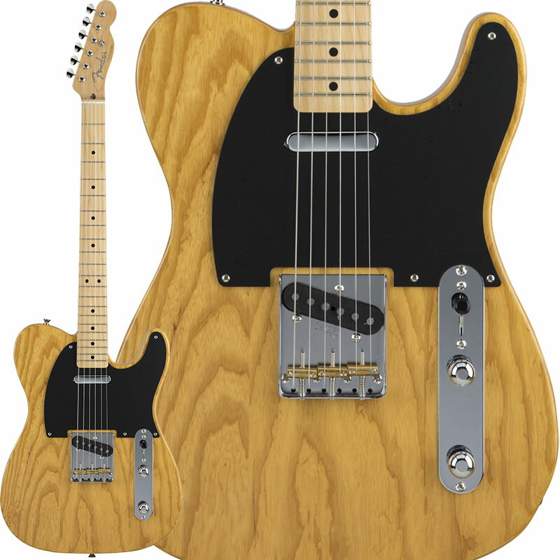 Fender Made in Japan Hybrid 50s Telecaster (Vintage Natural) [Made in Japan] 【数量限定!ギターアンプ VOX Pathfinder10プレゼント!!】 【ポイント5倍】 【お取り寄せ品】