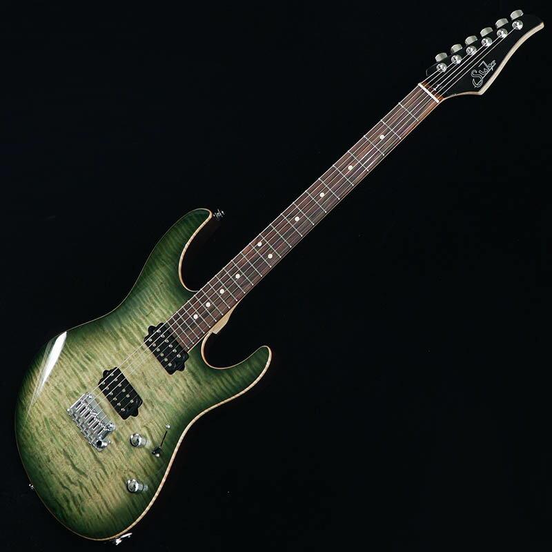 Suhr Guitars Japan Limited Model Pro Series Modern Pro Ash 510 HH Trans Green Burst/Pau Ferro [#JS0H3D] 【PGC-OTHERS】 【2月20日20時まで期間限定ポイント10倍!】