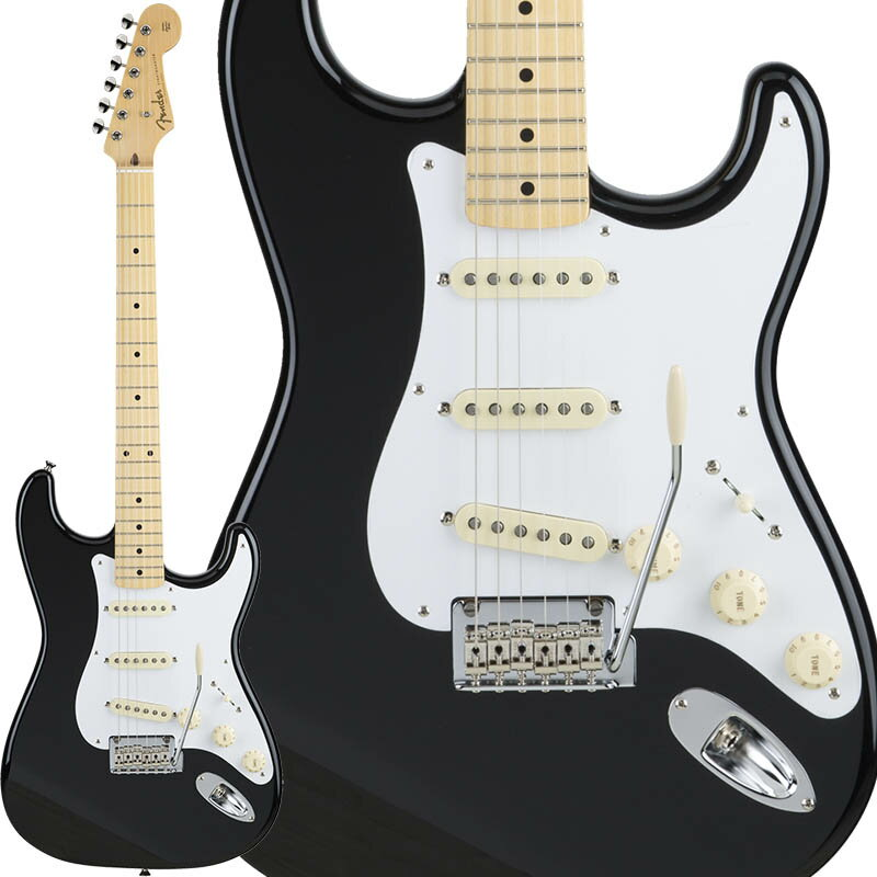 Fender Made in Japan Hybrid 50s Stratocaster (Black) [Made in Japan] 【数量限定!ギターアンプ VOX Pathfinder10プレゼント!!】 【ポイント5倍】 【お取り寄せ品】