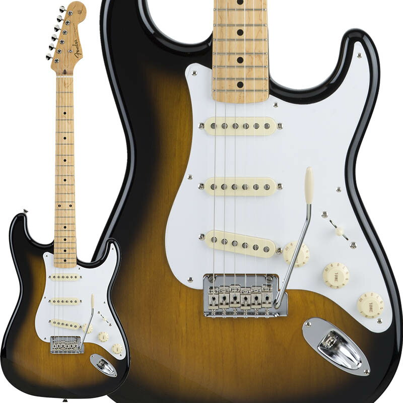 Fender Made in Japan Hybrid 50s Stratocaster (Tobacco Burst) [Made in Japan] 【数量限定!ギターアンプ VOX Pathfinder10プレゼント!!】 【ポイント5倍】 【お取り寄せ品】