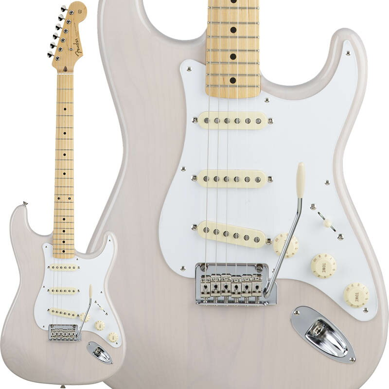 Fender Made in Japan Hybrid 68 Stratocaster (Arctic White) [Made in Japan] 【数量限定!ギターアンプ VOX Pathfinder10プレゼント!!】 【ポイント5倍】 【お取り寄せ品】
