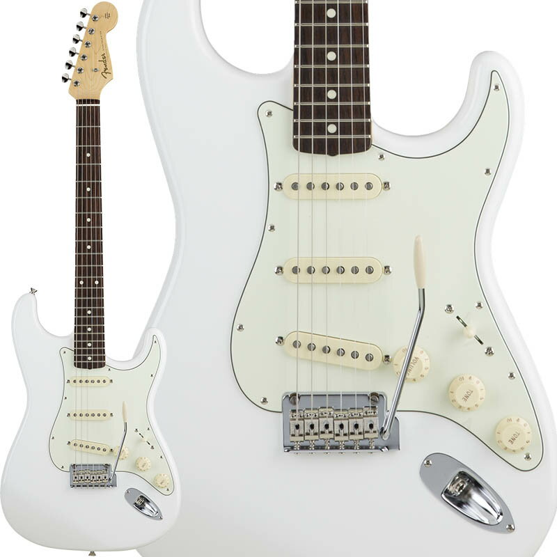 Fender Made in Japan Hybrid 60s Stratocaster (Arctic White) [Made in Japan] 【数量限定!ギターアンプ VOX Pathfinder10プレゼント!!】 【ポイント5倍】
