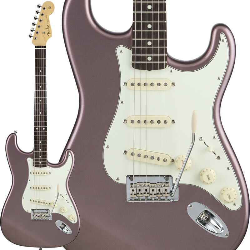 Fender Made in Japan Hybrid 60s Stratocaster (Burgundy Mist Metallic) [Made in Japan] 【数量限定!ギターアンプ VOX Pathfinder10プレゼント!!】 【ポイント5倍】 【お取り寄せ品】