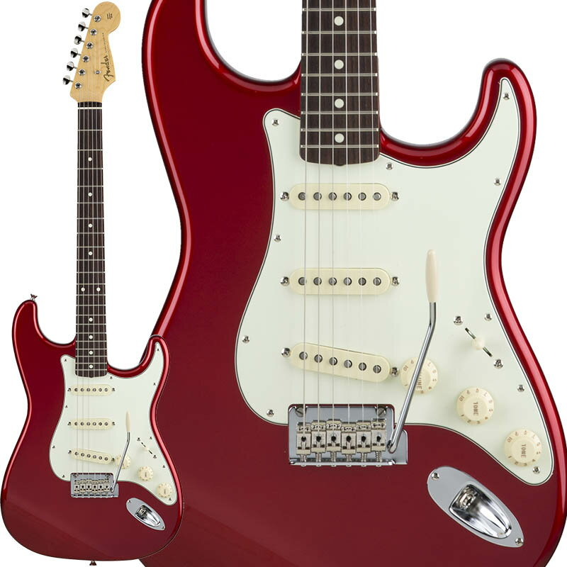 Fender Made in Japan Hybrid 60s Stratocaster (Candy Apple Red) [Made in Japan] 【数量限定!ギターアンプ VOX Pathfinder10プレゼント!!】 【ポイント5倍】 【お取り寄せ品】