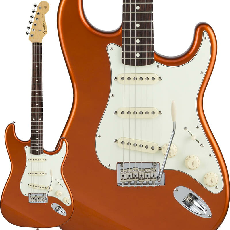Fender Made in Japan Hybrid 60s Stratocaster (Candy Tangerine) [Made in Japan] 【数量限定!ギターアンプ VOX Pathfinder10プレゼント!!】 【ポイント5倍】 【お取り寄せ品】