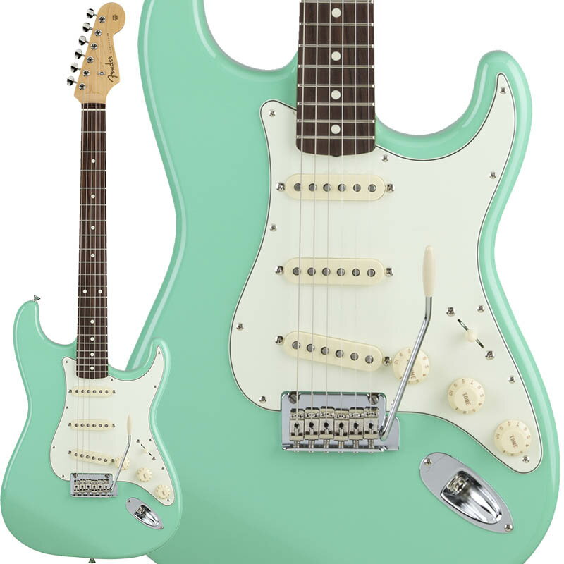 Fender Made in Japan Hybrid 60s Stratocaster (Surf Green) [Made in Japan] 【数量限定!ギターアンプ VOX Pathfinder10プレゼント!!】 【ポイント5倍】