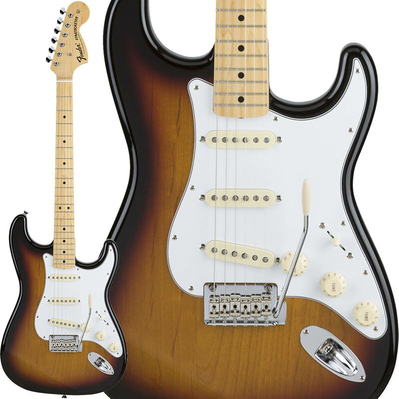 Fender Made in Japan Hybrid 68 Stratocaster (3-Color Sunburst) [Made in Japan] 【数量限定!ギターアンプ VOX Pathfinder10プレゼント!!】 【ポイント5倍】 【お取り寄せ品】