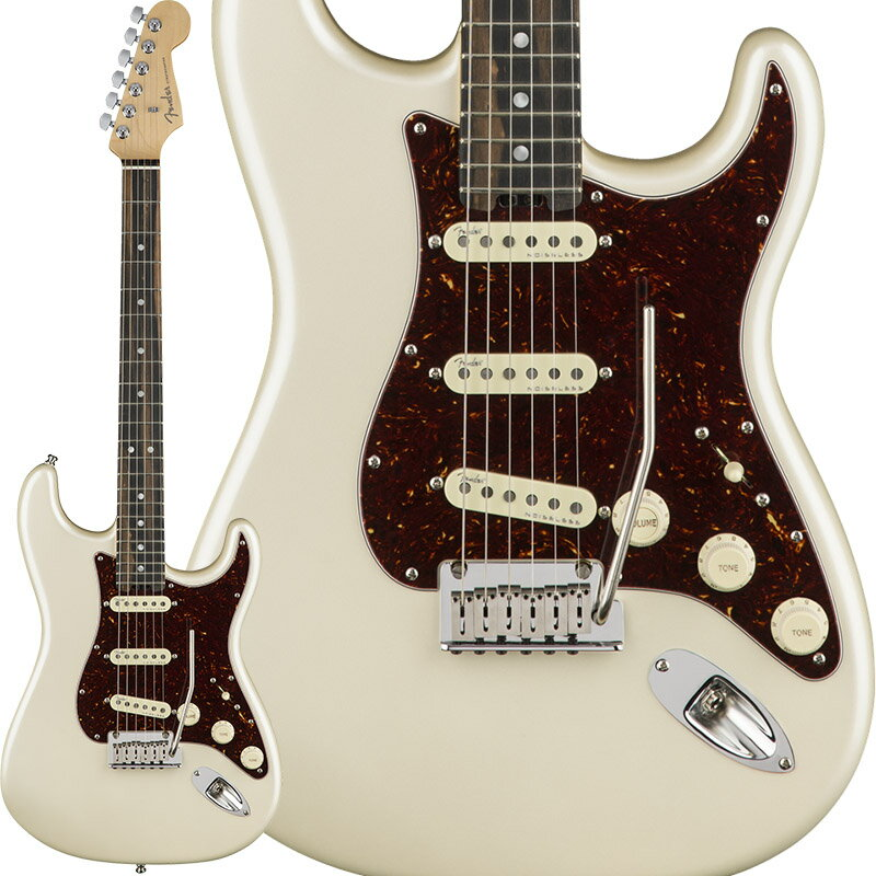 "Fender American Elite Stratocaster (Olympic Pearl/Ebony) [Made In USA] 【大幅プライスダウン!】 【フェンダー""Fシリーズ""ギグバッグプレゼント!】 【ポイント5倍】"