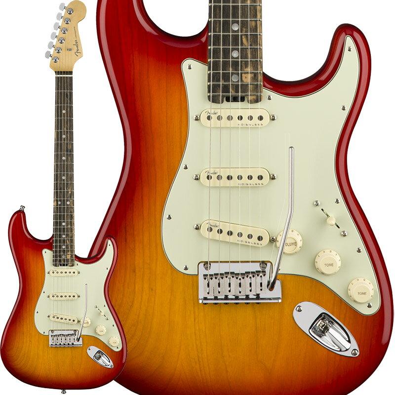 Fender American Elite Stratocaster Ash (Aged Cherry Burst/Ebony) [Made In USA] 【大幅プライスダウン!】 【ポイント5倍】