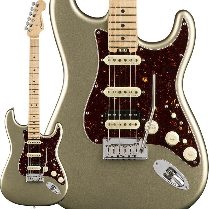 "Fender American Elite Stratocaster HSS Shawbucker (Champagne/Maple) [Made In USA] 【大幅プライスダウン!】 【フェンダー""Fシリーズ""ギグバッグプレゼント!】 【ポイント5倍】"