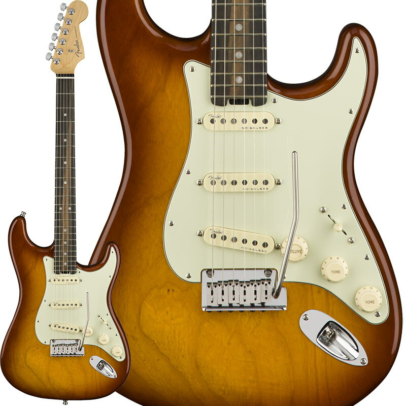 "Fender American Elite Stratocaster Ash (Tobacco Sunburst /Ebony) [Made In USA] 【大幅プライスダウン!】 【フェンダー""Fシリーズ""ギグバッグプレゼント!】 【ポイント5倍】"