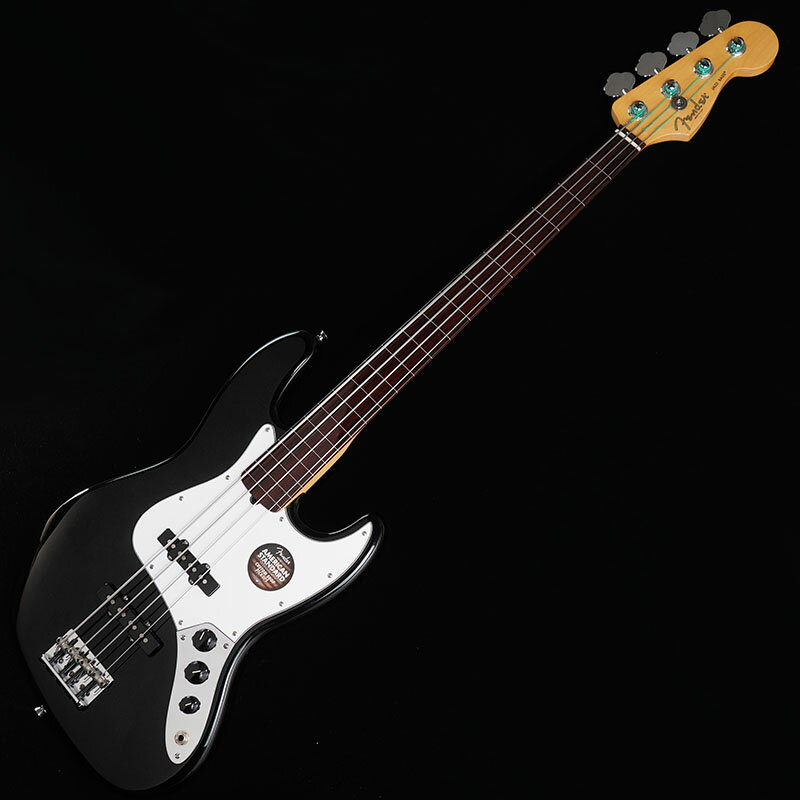 Fender USA Ikebe Original Mod. American Standard Jazz Bass Fretless with coated Fretboard (Black/Rosewood) 【特価】