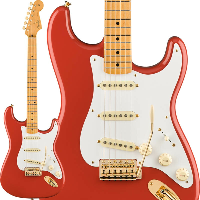 Fender Limited Edition Classic Series '50s Stratocaster (Fiesta Red/Gold Hardware) [Made In Mexico] 【期間限定プライス】