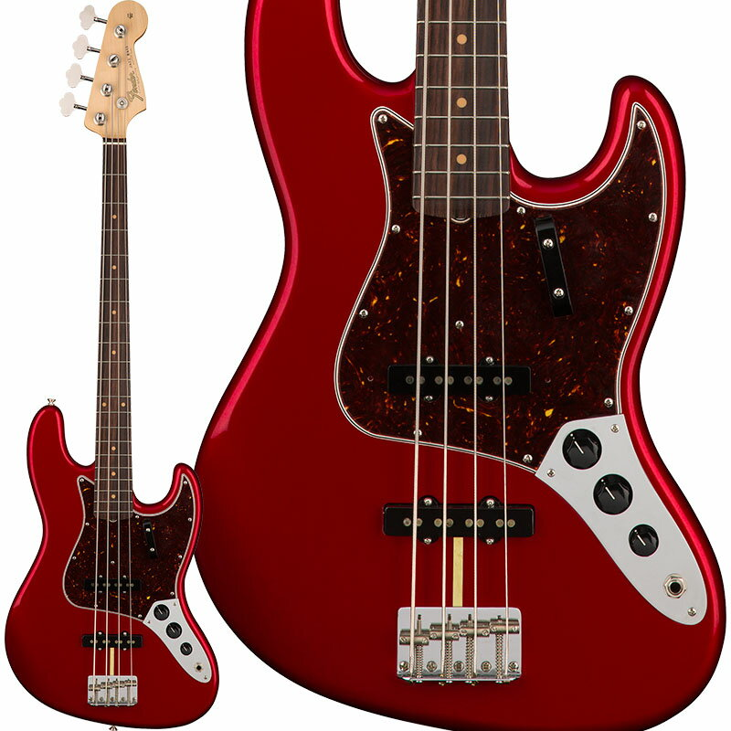 Fender American Original '60s Jazz Bass (Candy Apple Red) [Made In USA] 【ポイント5倍】