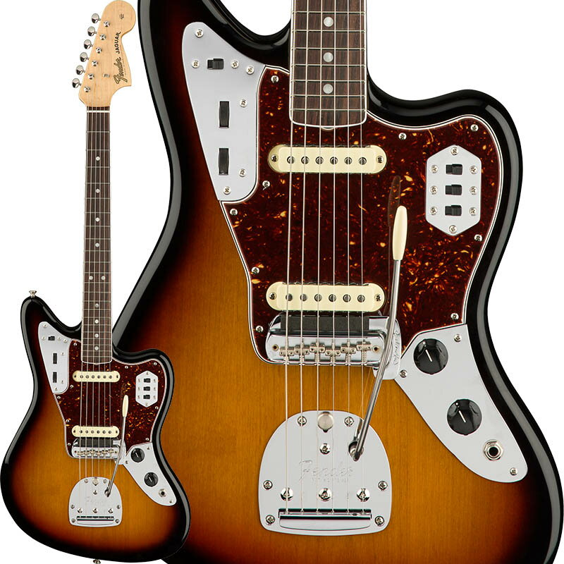 Fender American Original '60s Jaguar (3-Color Sunburst) [Made In USA] 【ikbp5】 【FENDER THE AUTUMN-WINTER 2018 CAMPAIGN】