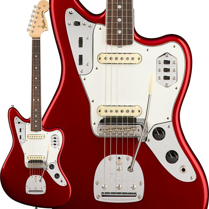 Fender American Original '60s Jaguar (Candy Apple Red) [Made In USA] 【ikbp5】 【FENDER THE AUTUMN-WINTER 2018 CAMPAIGN】