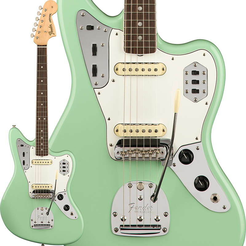 Fender American Original '60s Jaguar (Surf Green) [Made In USA] 【ikbp5】 【FENDER THE AUTUMN-WINTER 2018 CAMPAIGN】