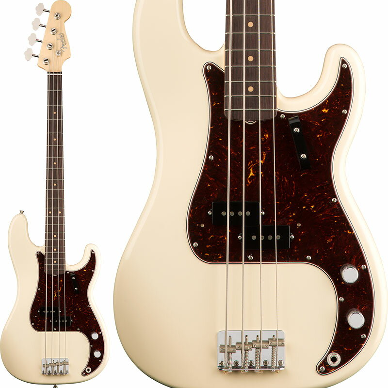 Fender American Original '60s Precision Bass (Olympic White) [Made In USA] 【お取り寄せ品】 【ポイント5倍】