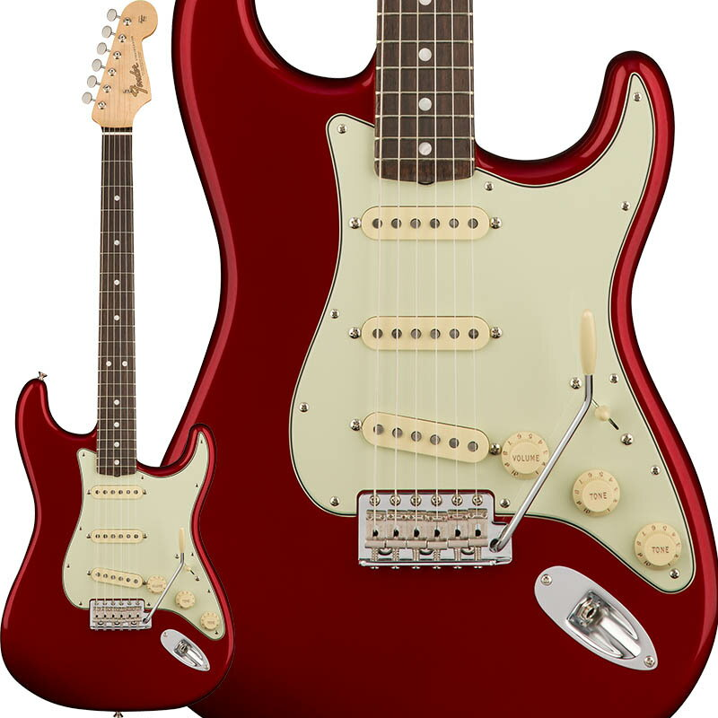 Fender American Original '60s Stratocaster (Candy Apple Red) [Made In USA] 【お取り寄せ品】 【ポイント5倍】