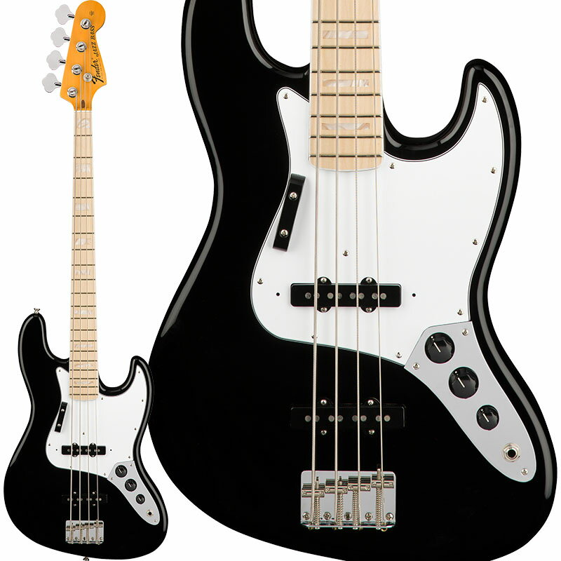 Fender American Original '70s Jazz Bass (Black) [Made In USA] 【お取り寄せ品】 【ポイント5倍】