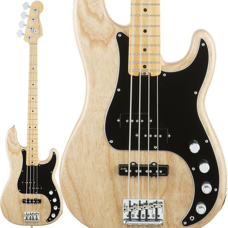 Fender American Elite Precision Bass Ash (Natural/Maple) 【ikbp5】