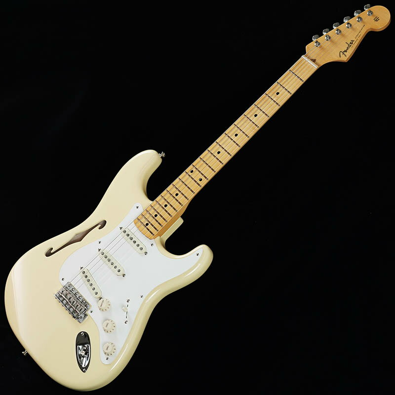 Fender Eric Johnson Thinline Stratocaster (Vintage White) [Made In USA] 【限定タイムセール】
