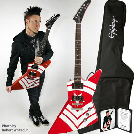 """Epiphone by Gibson Limited Edition Jason Hook """"M-4"""" Explorer Outfit 【数量限定エピフォン・アクセサリーパック・プレゼント】"""