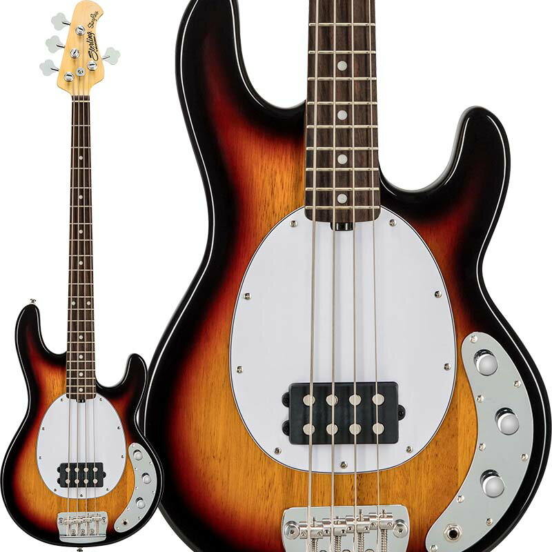 Sterling by MUSICMAN Ray24CA (3-Tone Sunburst/Rosewood)