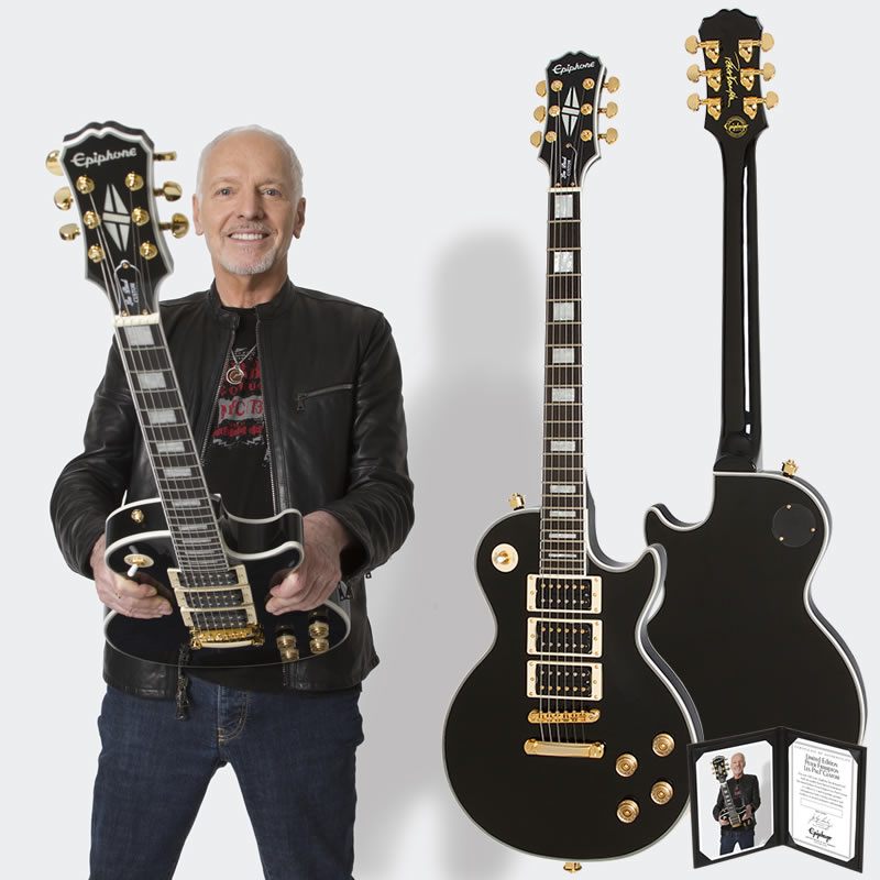 Epiphone by Gibson Limited Edition Peter Frampton Les Paul Custom PRO 【数量限定エピフォン・アクセサリーパック・プレゼント】