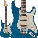 Fender Michiya Haruhata Stratocaster (Caribbean Blue Trans/ Rosewood) [春畑道哉(TUBE)日本製シグネイチャーストラトキャスター]…