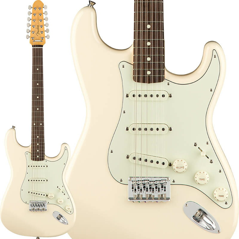 Fender Made In Japan Traditional Stratocaster XII (Olympic White) [Made in Japan] 【ikbp5】