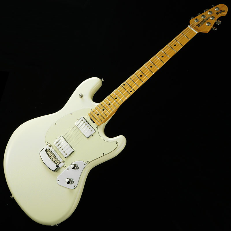 MUSICMAN StingRay Guitar (Ivory White) ※ネックジョイント割れ有り 【キズ有り特価】