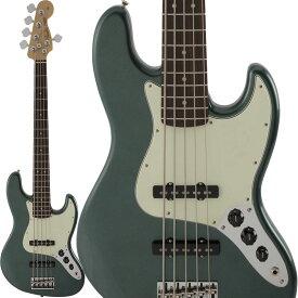 Fender Made in Japan Hybrid Jazz Bass V (Sherwood Green Metallic) [Made in Japan] 【ikbp5】