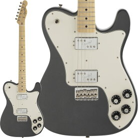Fender Made in Japan Hybrid Telecaster Deluxe (Charcoal Frost Metallic/Maple) [Made in Japan] 【ikbp5】