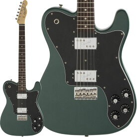 Fender Made in Japan Hybrid Telecaster Deluxe (Sherwood Green Metallic/Rosewood) [Made in Japan] 【ikbp5】