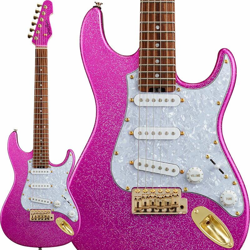 GrassRoots G-SN-62TO (Twinkle Pink) [Takayoshi Ohmura Model] 【577mmスケール採用ミニギター!】 【即納可能】