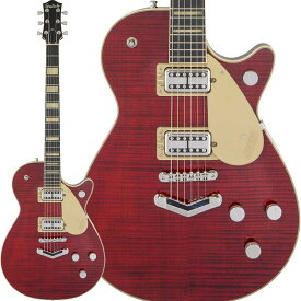 GRETSCH G6228FM Players Edition Jet BT with V-Stoptail (Crimson Stain) 【特価】