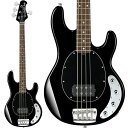 Sterling by MUSICMAN RAY34 (Black/Rosewood) 【本数限定アウトレット超特価】